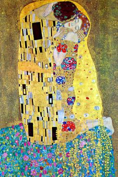Gustav Klimt The Kiss (Le Baiser _ Il Baccio) painting for sale - Gustav Klimt The Kiss (Le Baiser _ Il Baccio) is handmade art reproduction; You can shop Gustav Klimt The Kiss (Le Baiser _ Il Baccio) painting on canvas or frame. Art Nouveau, Art Klimt, Koloman Moser, Art Moderne, Art Plastique, Famous Artists, Love Art, Oeuvre D'art, Art History