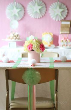 Tinkerbell & Fairies Birthday Party Ideas | Photo 30 of 33 | Catch My Party