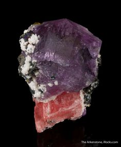 This Specimen Looks Very Much Like The Fluorite Rhodochrosite Combos From Sweet Home Mine