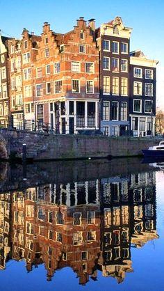 Amsterdam - Hoek Brouwersgracht