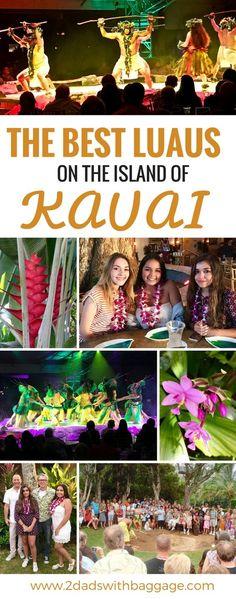 The best #luaus on Kauai #Hawaii