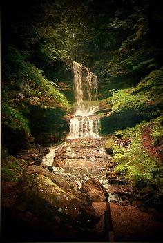 Horseshoe Falls, Munising, Michigan; photo by maryn0503, via Flickr