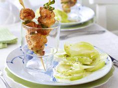 Rezepte im Glas - raffinierte Snacks mit Durchblick - edel-haehnchen-schaschlik