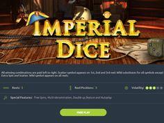 In luna octombrie 2018, EGT Interactive este bucuros sa anunte ca un alt membru din familia jocurilor de zaruri este deja live - Imperial Dice. For All Symbol, Double Up, Positivity, Live, Optimism
