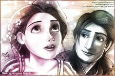 Tangled-And at last i see by areemus.deviantart.com on @DeviantArt