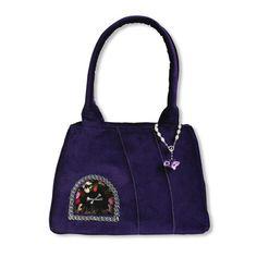 Handbag Violet & Silver