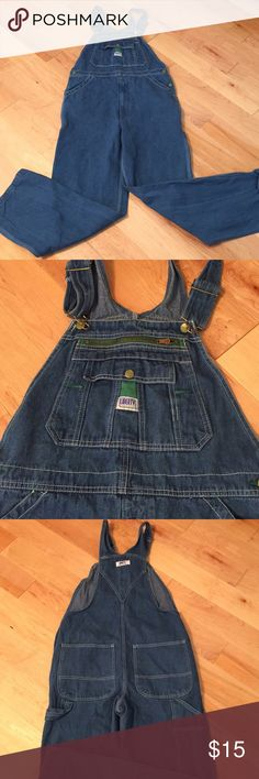 Men's jean overalls! 34W x 34L Men's Liberty overalls; used once. Excellent condition! Jeans