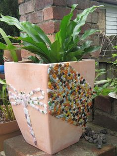 A Feast For The Eyes  Flower Pots!!! | Mosaics | Pinterest | Eyes, The  Ou0027jays And Pools
