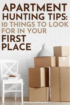 Apartment Hunting Tips_ 10 Things To Look For In Your First Place #adulting #movingout #movingtips #movingin #apartmenttips #firstapartment #firstplace