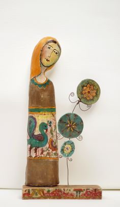 Mixed media ceramic