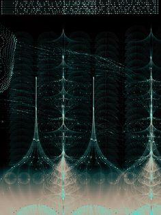 Music Portrait - Philip Glass by Tatiana Plakhova   Behance.net #synesthesia