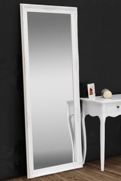 spiegel renaissance silber 185x75cm wandspiegel gro er barock spiegel. Black Bedroom Furniture Sets. Home Design Ideas