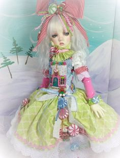 Sugar Cookies for MSD sized BJD dolls such as Volks MSD, Kaye Wiggs MSD, Dollstown 7 and similar sized dolls. The doll, wig and shoes are not included. | eBay!