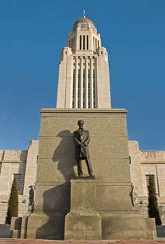 """11. Nebraska State Capitol otherwise known as, """"The Skyscraper of the Plains"""", Lincoln, NE"""