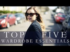 TOP FIVE THINGS YOU NEED IN YOUR WARDROBE   Hello October