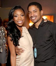 Brandy Norwood & Ryan Press