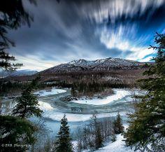 Highland Mt In the Chugach Mountains, Eagle River Alaska, by Ed Boudreau
