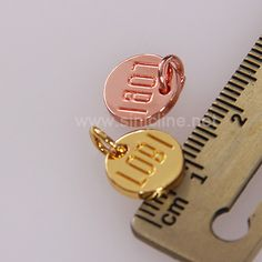 Sinicline Metal Labels For Clothing ML242_Garment hangtags|Pvc labels|Woven Labels|Fabric Labels-Sinicline