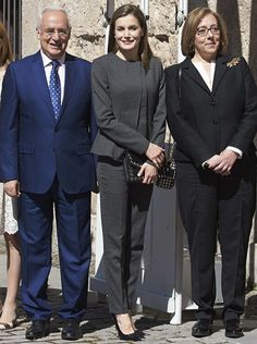 Queen Letizia attends Journalism and Language Seminar