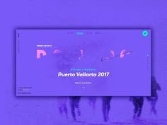 #ViveBoiling: Portada Destino by Iván Soria for WELOVECORNER   UI Interactions of the week #17