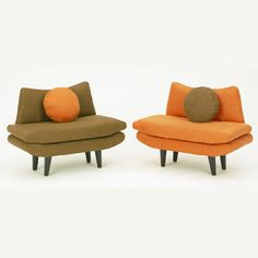 Kid or pet scaled mod settee #furniture #chair #modern