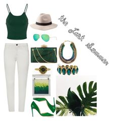 """""""the last summer"""" by jewelry-artisan on Polyvore featuring French Connection, Jimmy Choo, Glamorous, Charlotte Olympia, Ray-Ban, Charlotte Russe, Stella & Dot and Sue Devitt"""