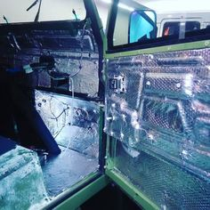 Sound and heat insulation defender project!! #southmotorsathens #defender #carsdaily #bespoke #landroverdefender #4x4life #defender130 #defender110 #defender90 #landrover #bigboystoys #custommade #custombuilt by southmotorsathens Sound and heat insulation defender project!! #southmotorsathens #defender #carsdaily #bespoke #landroverdefender #4x4life #defender130 #defender110 #defender90 #landrover #bigboystoys #custommade #custombuilt