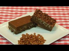 Turrón de Chocolate Avellanas y Pasas - YouTube