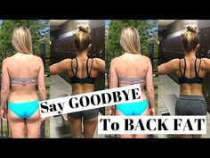 Say GOODBYE To Back FAT | Workout For Women - YouTube