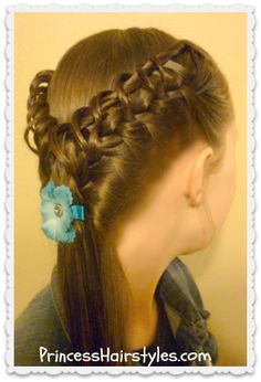 braided hairstyle, the hook and ladder braid