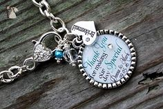 Custom Bridal Party Thank you for making our day special OR Your choice of saying, color and charm Wedding favor charm bracelet gift - Wedding bracelets (*Amazon Partner-Link)