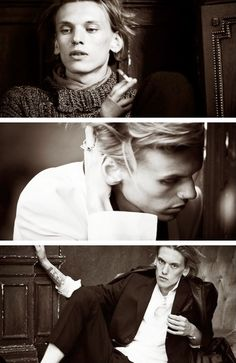 Jamie Campbell Bower photoshoot by Matthew Brookes.