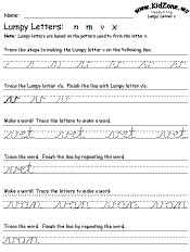 cursive handwriting practice worksheet-more advanced. Also a link to cursive name printable. Cursive Writing For Kids, Handwriting Practice Worksheets, Cursive Writing Worksheets, Spelling Worksheets, Improve Your Handwriting, Improve Handwriting, Handwriting Analysis, Practice Cursive, Hand Writing