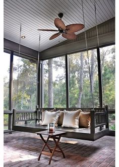 Fire Pit Swing Sets Love relaxing around a fire and also lipatios, porches, outdoor entertaining outdoor design - Home and Garden Design Idea's