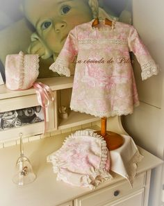 Blog de ropa artesanal para bebé, , bautizo, comunión y novia Petite Fashion, Kids Fashion, Children, Alba, Clothes, Dresses, Boutique, Classic, Modern