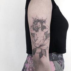 Popular Tattoos and Their Meanings Dope Tattoos, Body Art Tattoos, Sleeve Tattoos, Tatoos, Piercing Tattoo, Afro Tattoo, Piercings, Aphrodite Tattoo, Goddess Tattoo