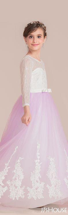 e85a901c3e5 Such a gentle color and such great design makes a fabulous junior  bridesmaid dress!