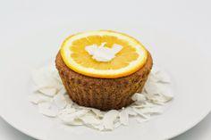 Gluten-Free Ricotta Coconut Orange Cakes