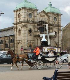Street scene in Great Yarmouth, United Kingdom