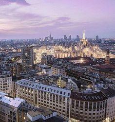Milano Paris Skyline, Instagram Posts, Travel, 3, Beautiful, Colorado, Polyvore, Italia, Tourism