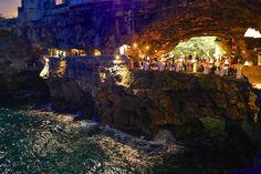 A beleza do restaurante Grotta Palazzese na Itália | Panorama Eco
