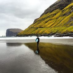 A Rare Moments Reflection ~ Appreciating what Mother Nature has Provided ~ Chris Burkard ~ instagr.in