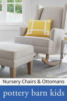 Nursery Chairs & Ottomans