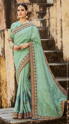 partywear silk sarees online