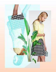 Rosanna Webster #fashion #collage #inspiration