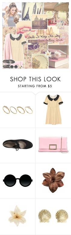 """All My Stars Aligned"" by jazzy-jessi ❤ liked on Polyvore featuring ASOS, Retrò, ECCO, Roger Vivier, Moscot, Cinque, Clips, WALL, Tiffany & Co. and Joomi Lim"