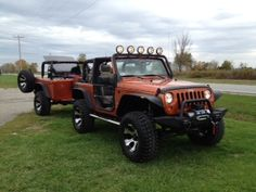 custom design trailer to match your jeep...sweet