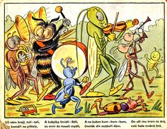 """""""Bugs' Parade"""" - Sekora's wonderful descriptions of insects' world"""