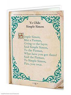 Simple Simon Card