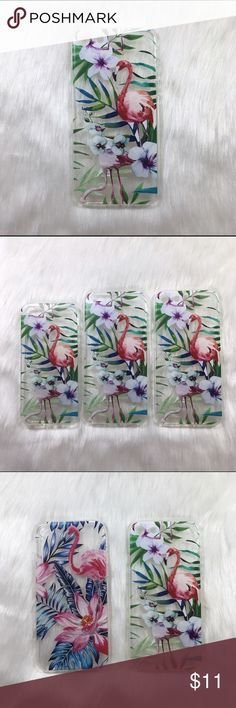 Green tropical palm floral flamingo iPhone case 🌸 Brand new boutique item  🌸 Green tropical palm leaves tree pink watercolor flamingo iPhone 5 5s se 6 6s 7 case cover  🌸 High quality bendable plastic called soft TPU with a beautiful high quality print 🌸Also available in a blue flamingo version  🌸 Photos are my own, please do not steal.   🌸If you have any questions, please do ask!🌸        🌸Flovvers Boutique🌸 Accessories Phone Cases